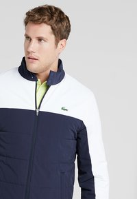 Lacoste Sport - TENNIS JACKET - Outdoor jacket - navy blue/white - 3