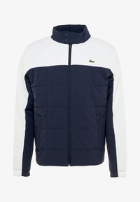 Lacoste Sport - TENNIS JACKET - Outdoor jacket - navy blue/white - 5
