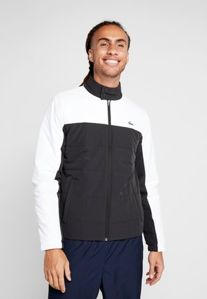 TENNIS JACKET - Outdoorová bunda - black/white