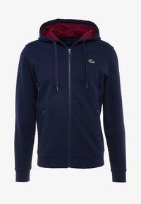 Lacoste Sport - DJOKOVIC - veste en sweat zippée - navy blue/medoc - 5