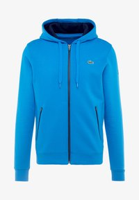 Lacoste Sport - DJOKOVIC - Zip-up hoodie - nattier blue/navy blue - 4
