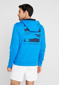 Lacoste Sport - DJOKOVIC - Zip-up hoodie - nattier blue/navy blue - 2