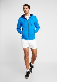 Lacoste Sport - DJOKOVIC - Zip-up hoodie - nattier blue/navy blue - 1