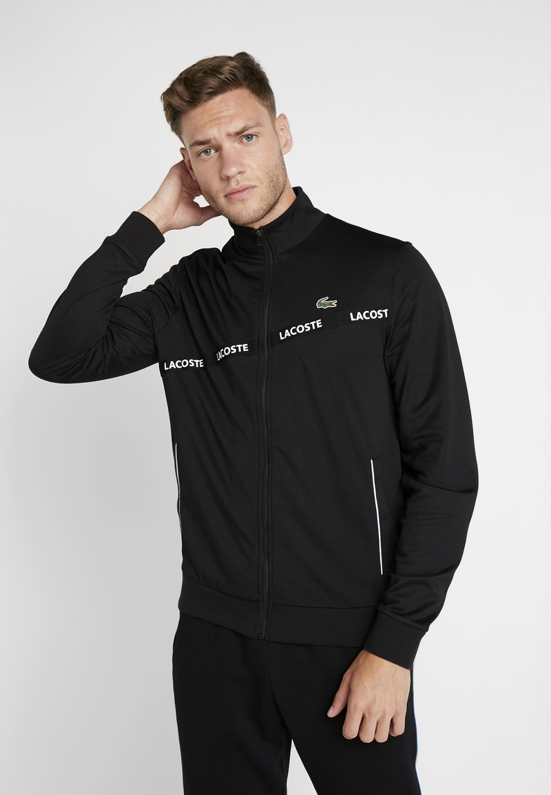 Lacoste Sport - TENNIS JACKET - Training jacket - black