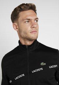 Lacoste Sport - TENNIS JACKET - Treningsjakke - black - 4
