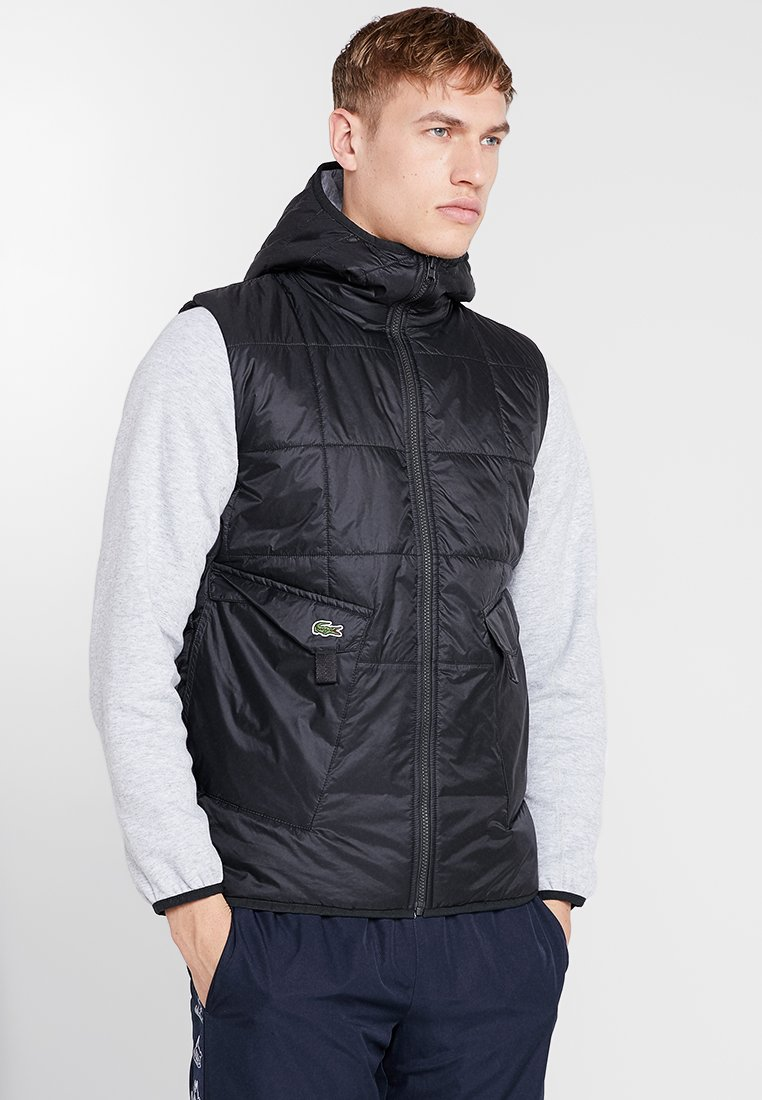 Lacoste Sport - JACKET - Outdoorjacka - black/silver chine