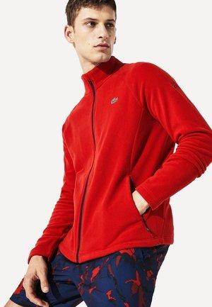 DJOKOVIC - veste en sweat zippée - red/navy