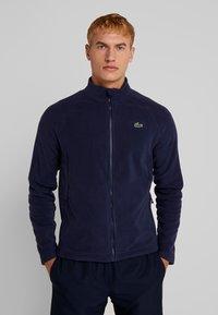 Lacoste Sport - DJOKOVIC - Zip-up hoodie - navy blue - 0