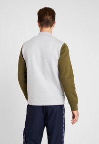 Lacoste Sport - JACKET - Zip-up hoodie - silver chine/bush - 2