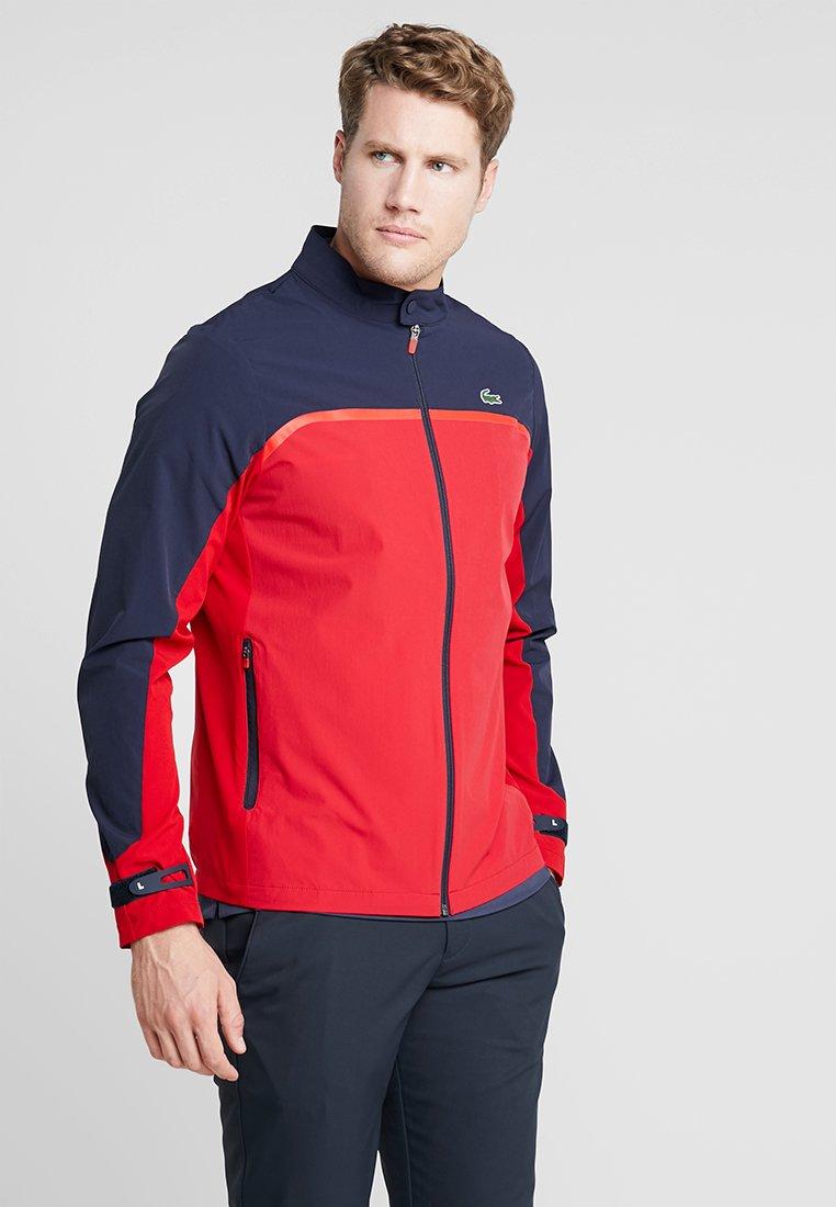 Lacoste Sport - Softshelljakke - tokyo red/navy blue/flash