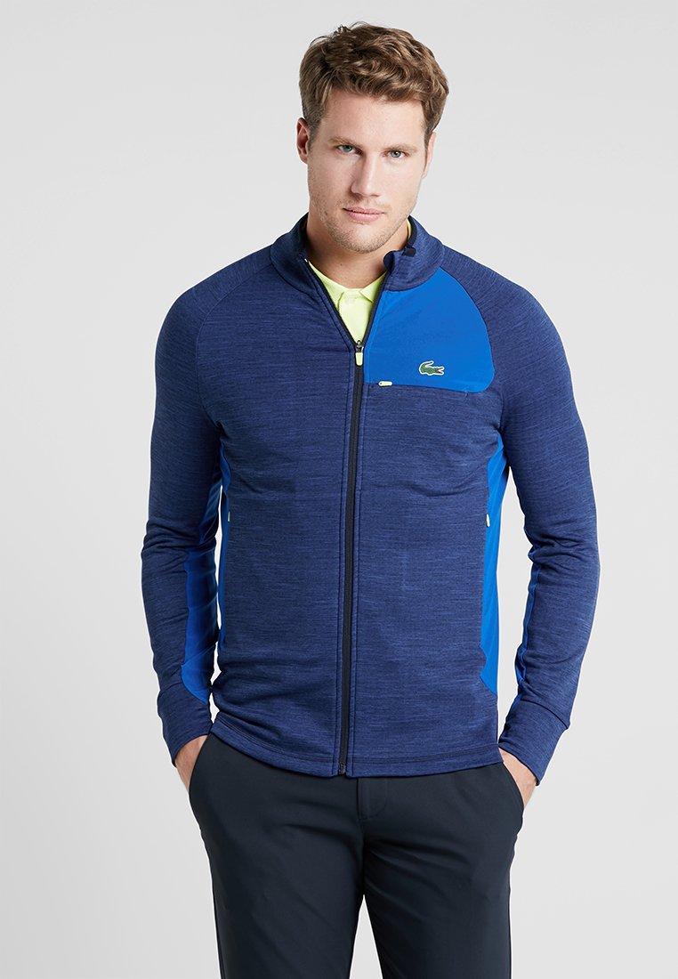 Lacoste Sport - Träningsjacka - folia chine/navy blue