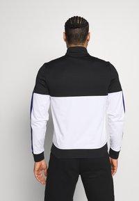 Lacoste Sport - TENNIS JACKET - Training jacket - black/white - 2