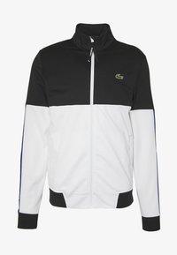 Lacoste Sport - TENNIS JACKET - Training jacket - black/white - 4