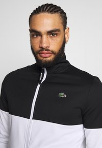 Lacoste Sport - TENNIS JACKET - Training jacket - black/white - 3