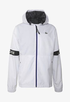 TENNIS JACKET - Veste imperméable - white/black