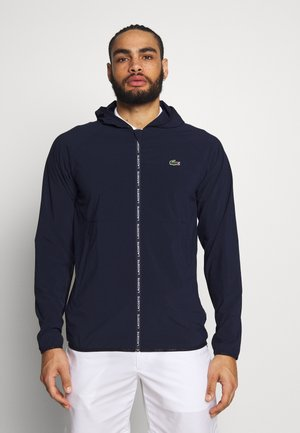Windbreaker - navy blue/gladiolus