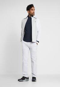 Lacoste Sport - JACKET - Training jacket - white/calluna/navy blue/gladiolus - 1