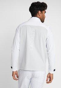 Lacoste Sport - JACKET - Training jacket - white/calluna/navy blue/gladiolus - 2