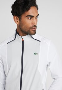 Lacoste Sport - JACKET - Training jacket - white/calluna/navy blue/gladiolus - 5
