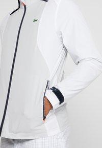 Lacoste Sport - JACKET - Training jacket - white/calluna/navy blue/gladiolus - 3