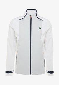 Lacoste Sport - JACKET - Training jacket - white/calluna/navy blue/gladiolus - 4