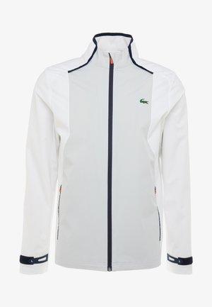 JACKET - Sportovní bunda - white/calluna/navy blue/gladiolus