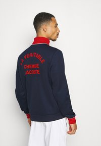 Lacoste Sport - BOMBER JACKET - Giacca sportiva - navy blue/red/white - 2