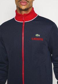 Lacoste Sport - BOMBER JACKET - Träningsjacka - navy blue/red/white - 5