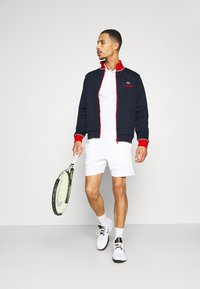 Lacoste Sport - BOMBER JACKET - Giacca sportiva - navy blue/red/white - 1