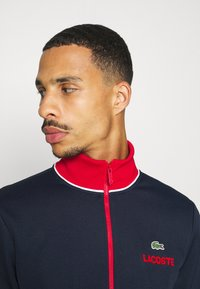 Lacoste Sport - BOMBER JACKET - Giacca sportiva - navy blue/red/white - 3