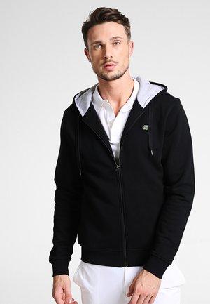 veste en sweat zippée - noir/argent chine