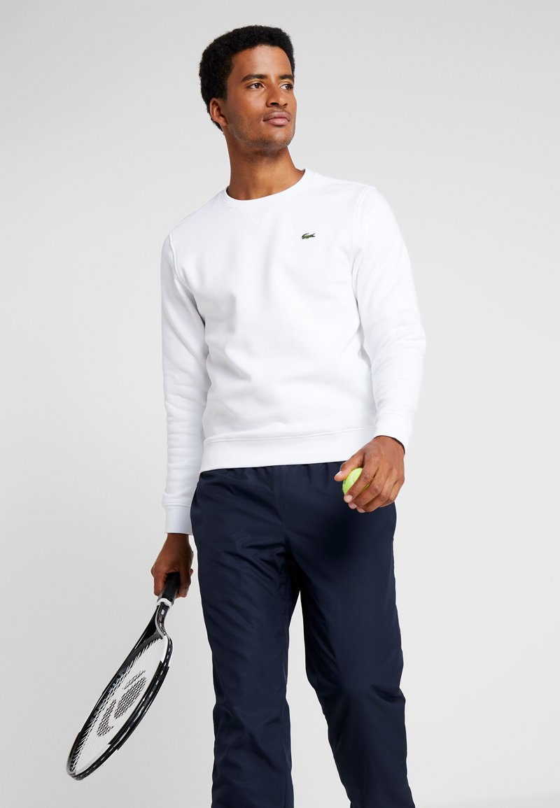 Lacoste Sport - HERREN - Sweatshirt - white