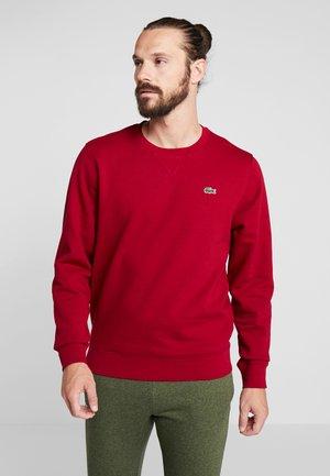HERREN - Sweatshirt - bordeaux