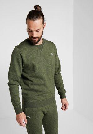 HERREN - Sweatshirt - brome chine/olive