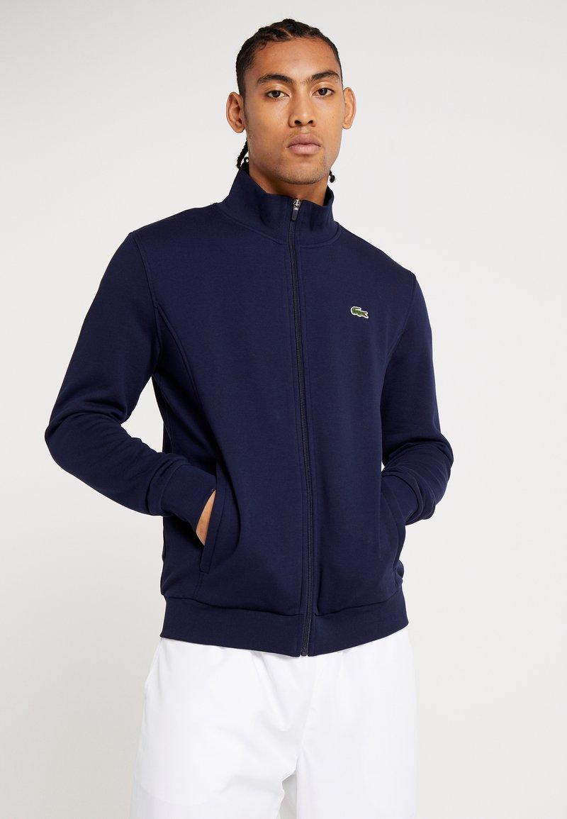 Lacoste Sport - Zip-up hoodie - navy blue