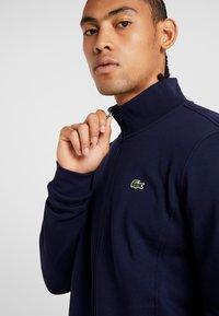 Lacoste Sport - Zip-up hoodie - navy blue - 3