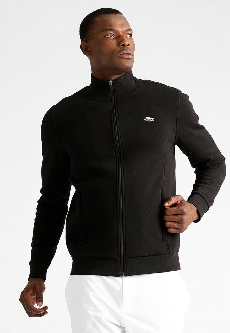 Lacoste Sport - Bluza rozpinana - black