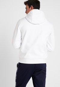 Lacoste Sport - HOODY - Huppari - white/pitch - 2