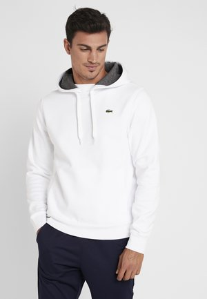 HOODY - Hoodie - white/pitch