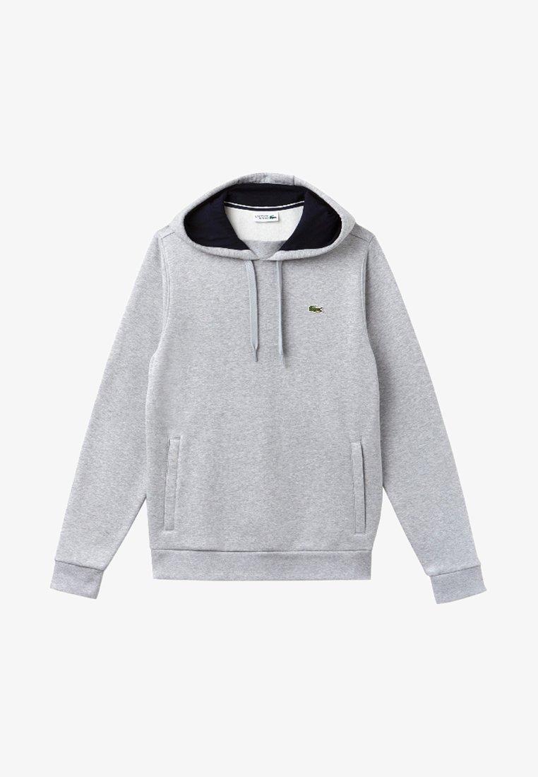 Lacoste Sport - HOODY - Luvtröja - light grey