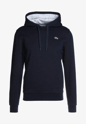 HOODY - Bluza z kapturem - marine/argent chine