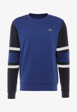 SWEATER - Sweatshirt - ocean/navy blue/white