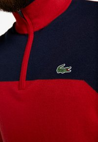 Lacoste Sport - WITH ZIP - Pullover - tokyo red/navy blue - 6