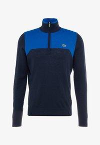 Lacoste Sport - WITH ZIP - Jumper - navy blue - 5