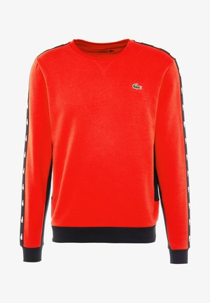 TAPERED - Sweatshirt - corrida/black