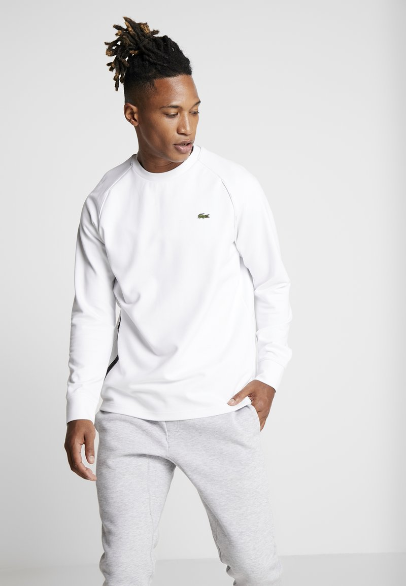 Lacoste Sport - PREMIUM - Sweatshirt - white/black