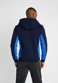 Lacoste Sport - Huvtröja med dragkedja - navy blue/obscurity navy blue - 2
