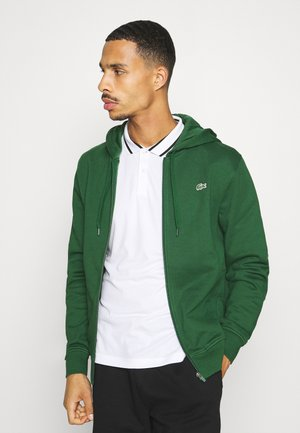 CLASSIC HOODIE JACKET - Mikina s kapucí - green