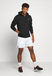 Lacoste Sport - CLASSIC HOODIE JACKET - Zip-up hoodie - black - 1