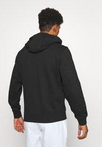Lacoste Sport - CLASSIC HOODIE JACKET - Zip-up hoodie - black - 2